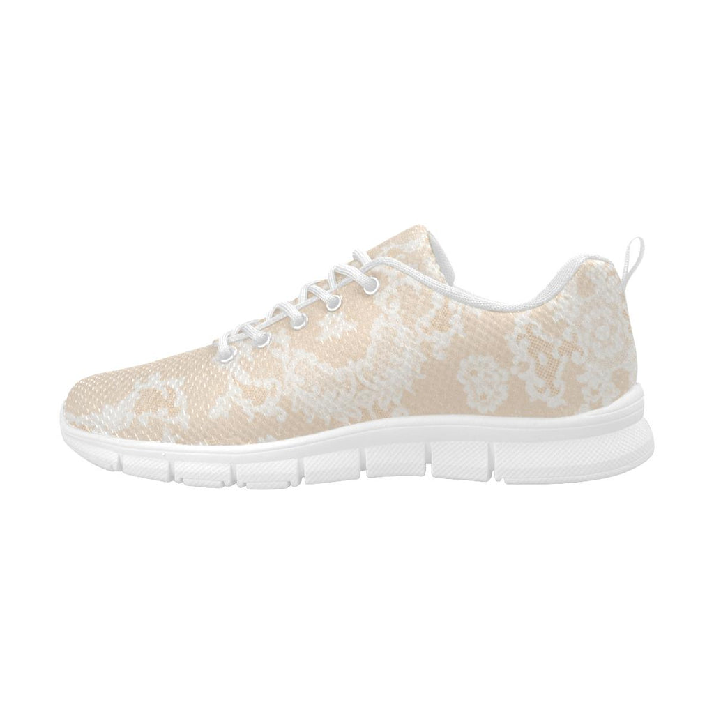Castlefield Design Neutral Lace Sneakers