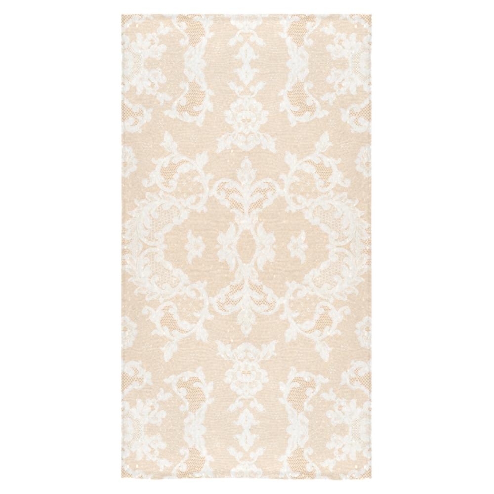 Castlefield Design Neutral Lace Towels