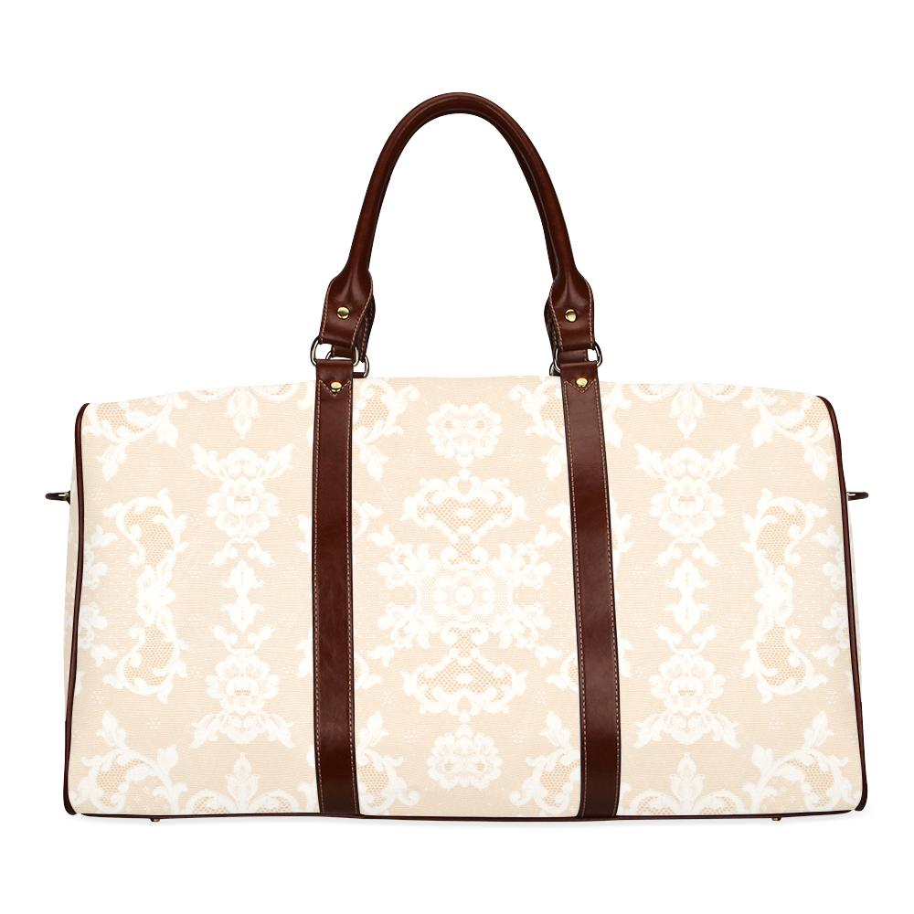 Castlefield Design Neutral Lace Travel Bags