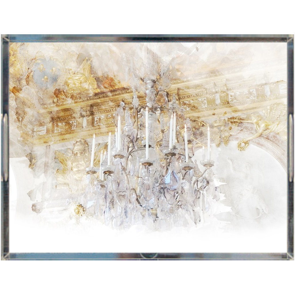Castlefield Design Palace Chandelier Acrylic Trays