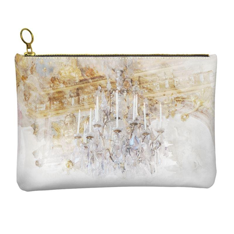 Castlefield Design Palace Chandelier Leather Clutch