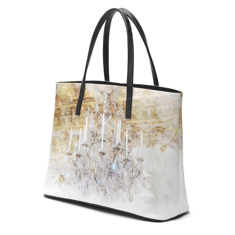 Castlefield Design Palace Chandelier Leather Tote