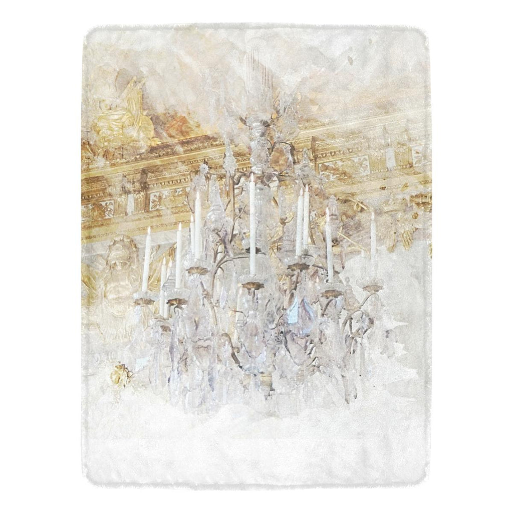 Castlefield Design Palace Chandelier Throw Blanket