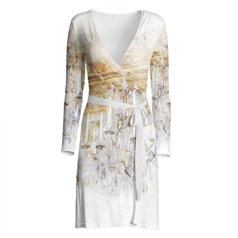 Castlefield Design Palace Chandelier Wrap Dress
