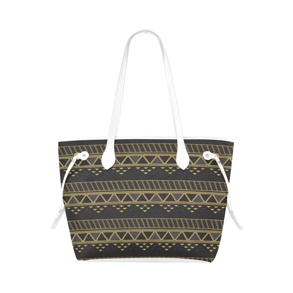 Castlefield Design Panther Geometric Canvas Tote