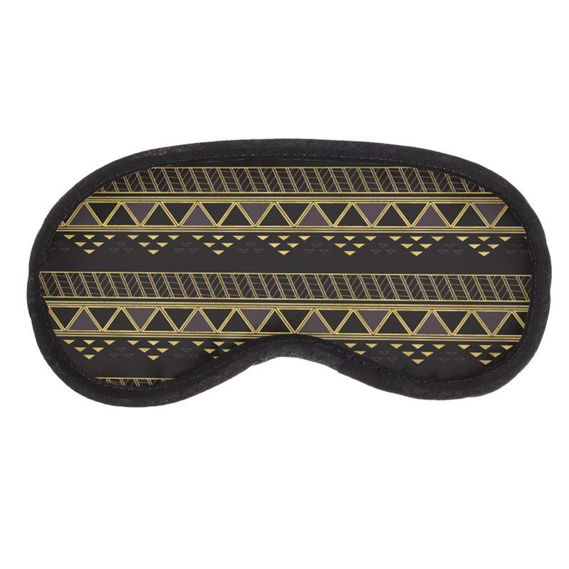 Castlefield Design Panther Geometric Eye Mask