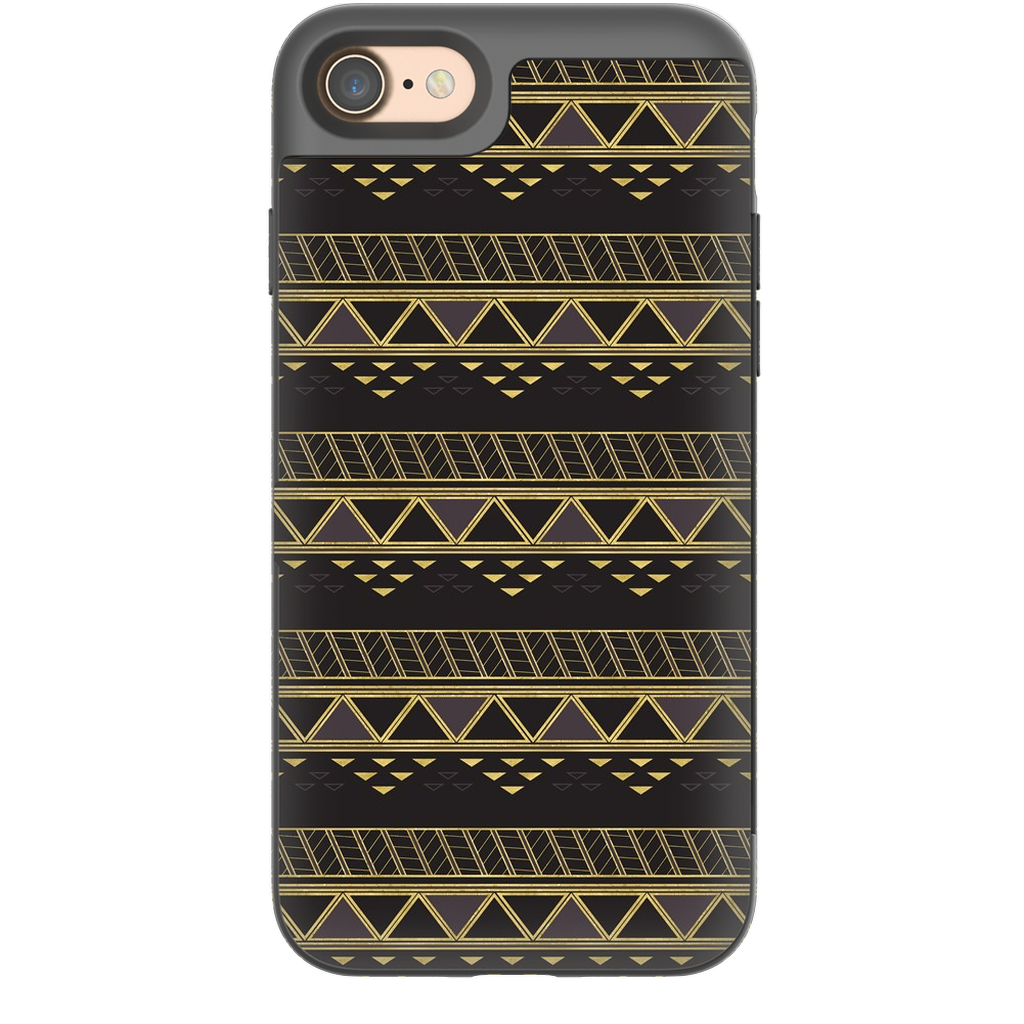 Castlefield Design Panther Geometric iPhone Cases