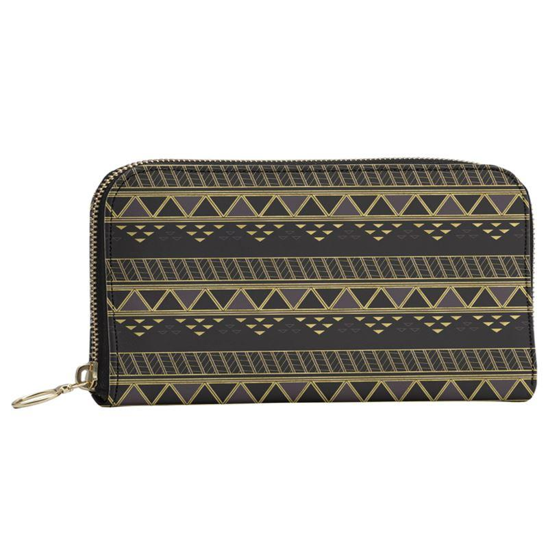 Castlefield Design Panther Geometric Large Wallet