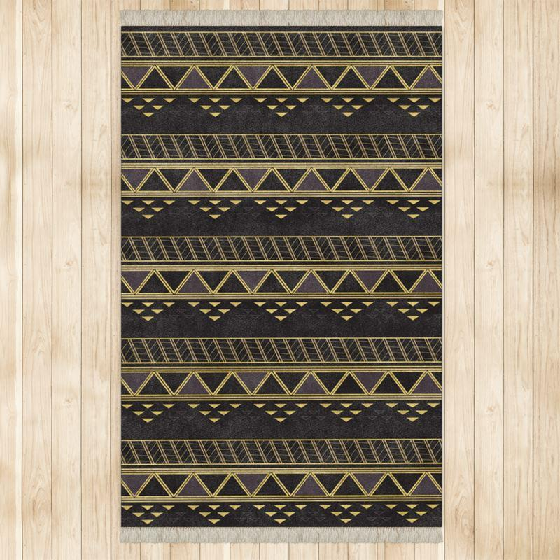 Castlefield Design Panther Geometric Rug