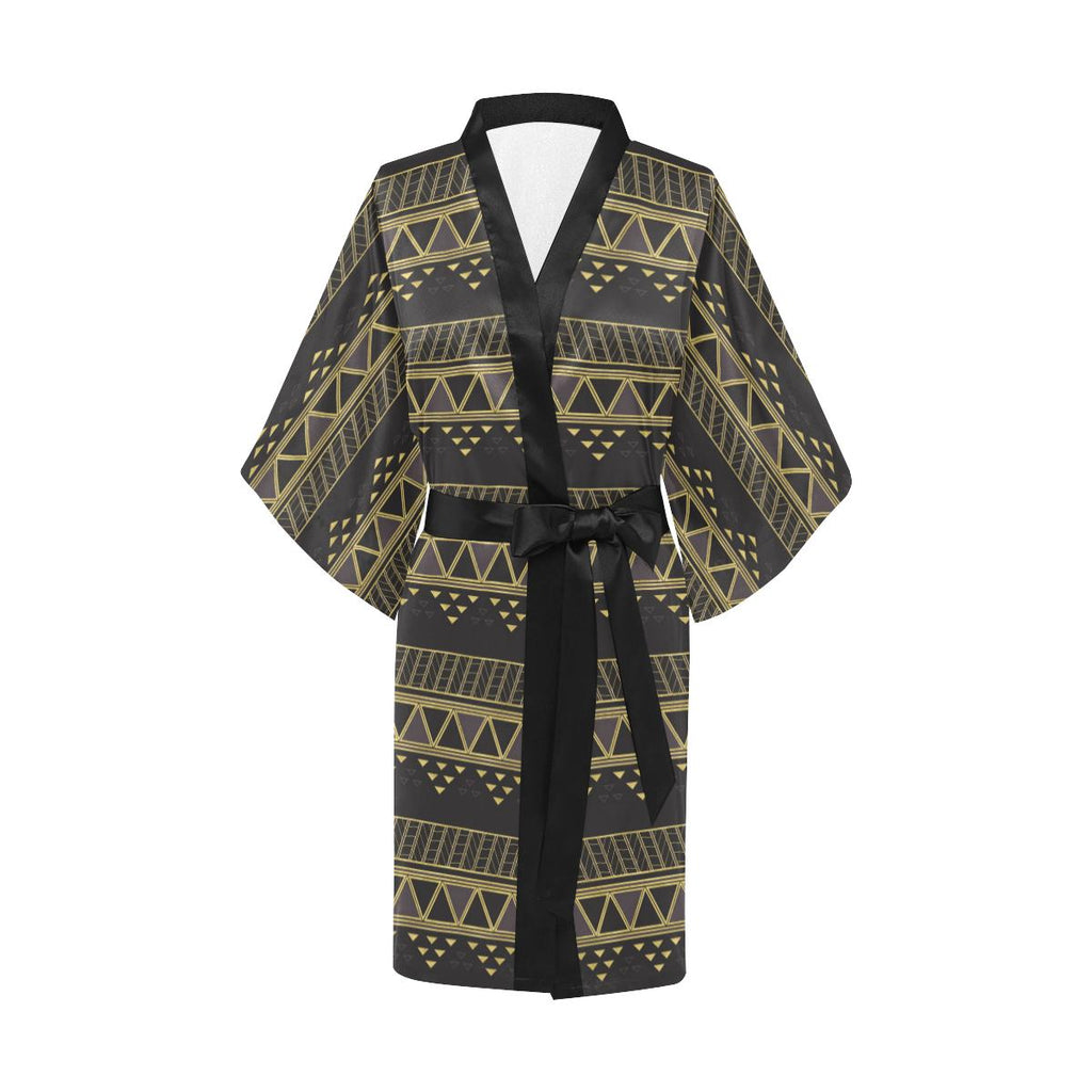 Castlefield Design Panther Geometric Satin Robe