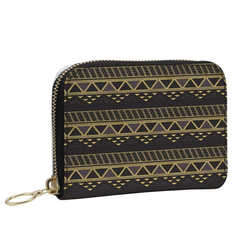 Castlefield Design Panther Geometric Small Wallet