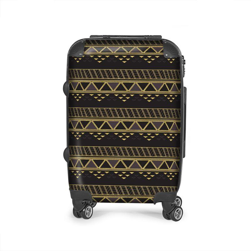 Castlefield Design Panther Geometric Suitcase