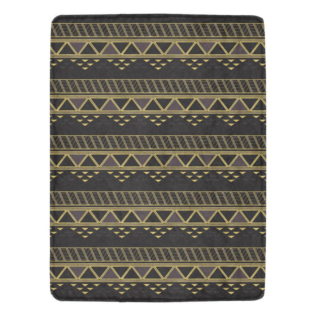 Castlefield Design Panther Geometric Throw Blanket