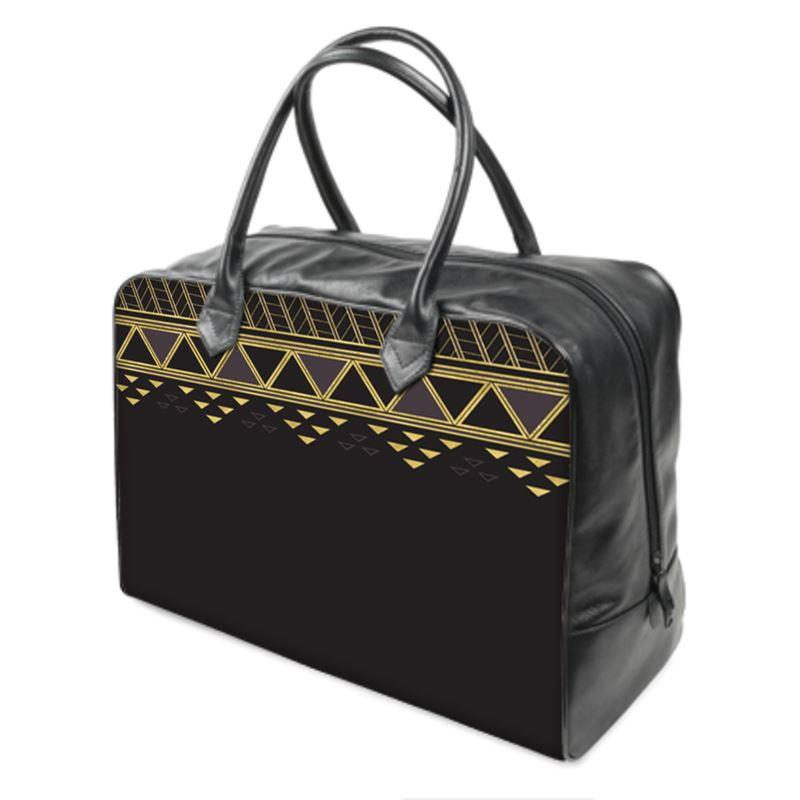 Castlefield Design Panther Geometric Weekender Bag