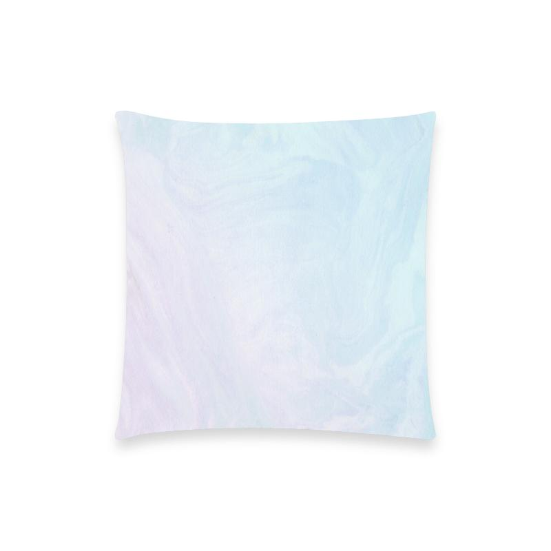 Castlefield Design Pastel Ombré Marble Pillow Cases