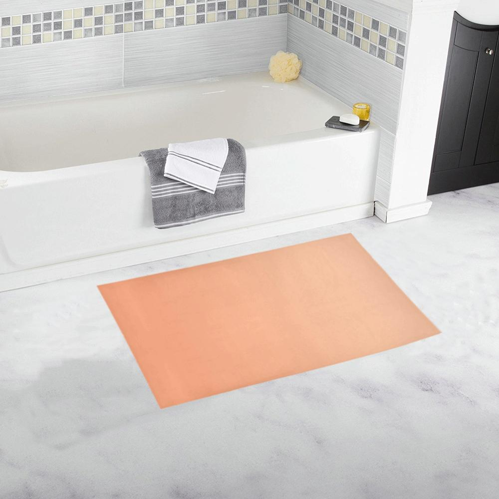 Castlefield Design Peach Creamsicle Bath Mats
