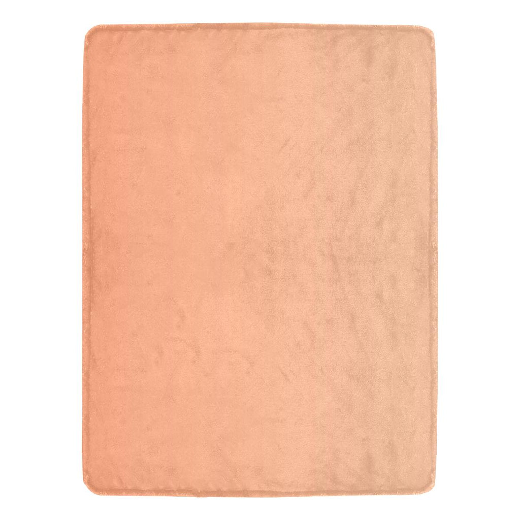 Castlefield Design Peach Creamsicle Throw Blanket