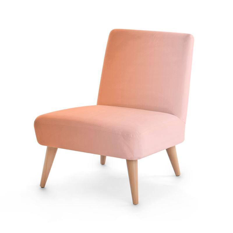 Castlefield Design Peach Pink Chair