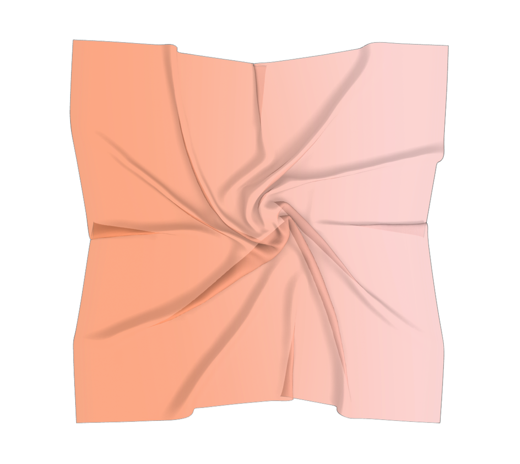 Castlefield Design Peach Pink Scarves