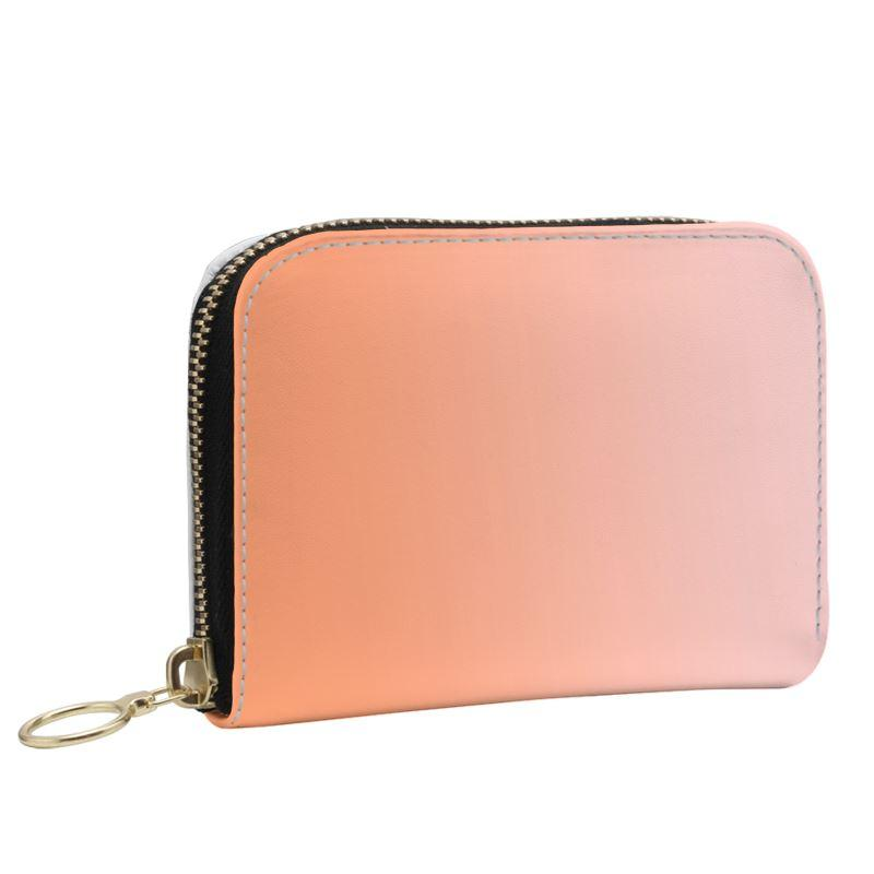 Castlefield Design Peach Pink Small Wallet