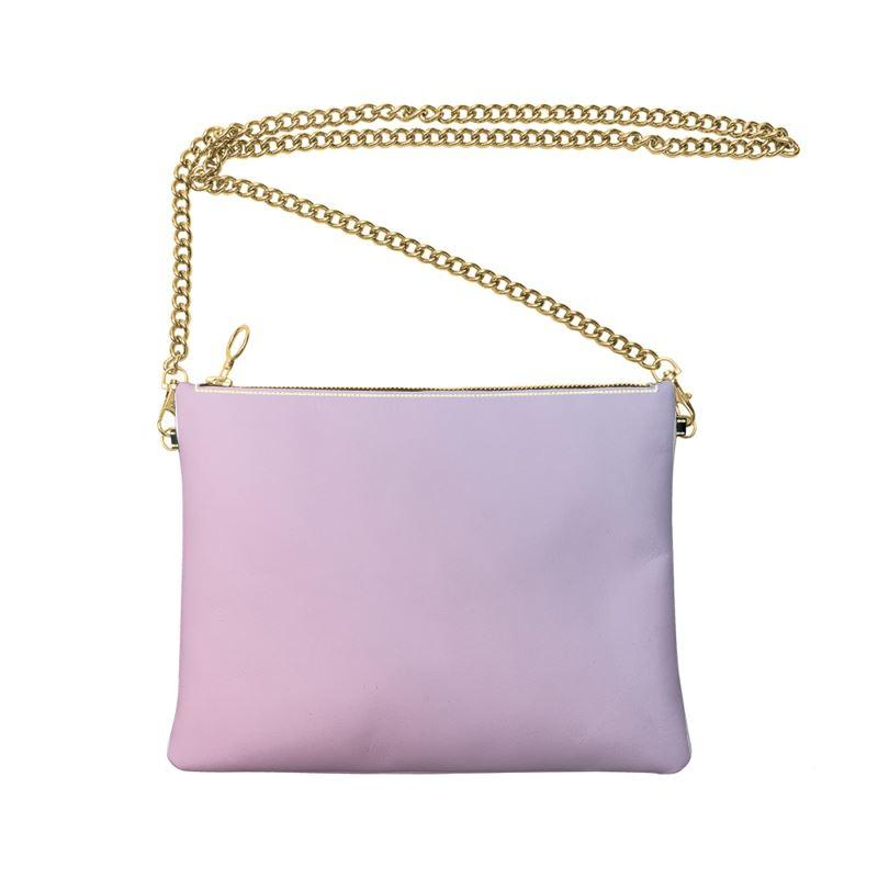 Castlefield Design Pink Lavender Crossbody Bag