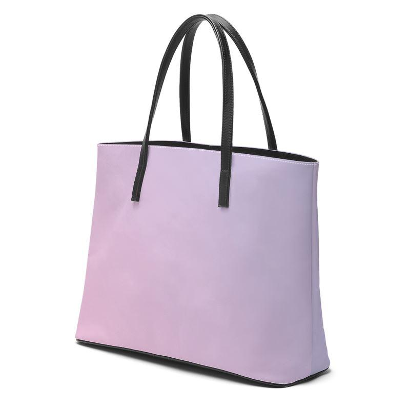 Castlefield Design Pink Lavender Leather Tote