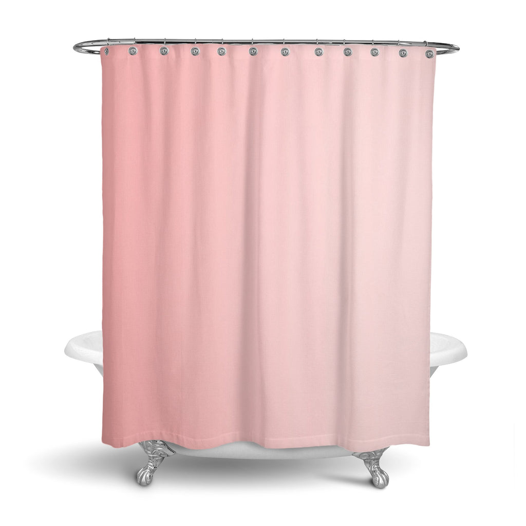 Castlefield Design Pink Shower Curtain