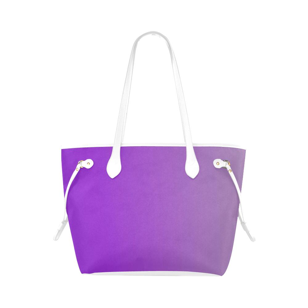 Castlefield Design Purple Canvas Tote