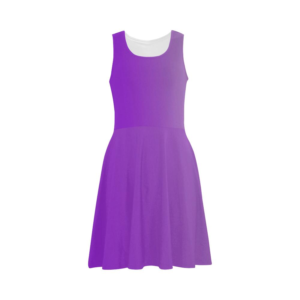 Castlefield Design Purple Flare Dress