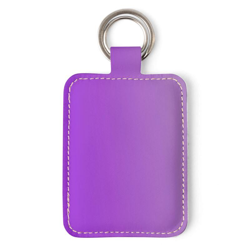 Castlefield Design Purple Keyring