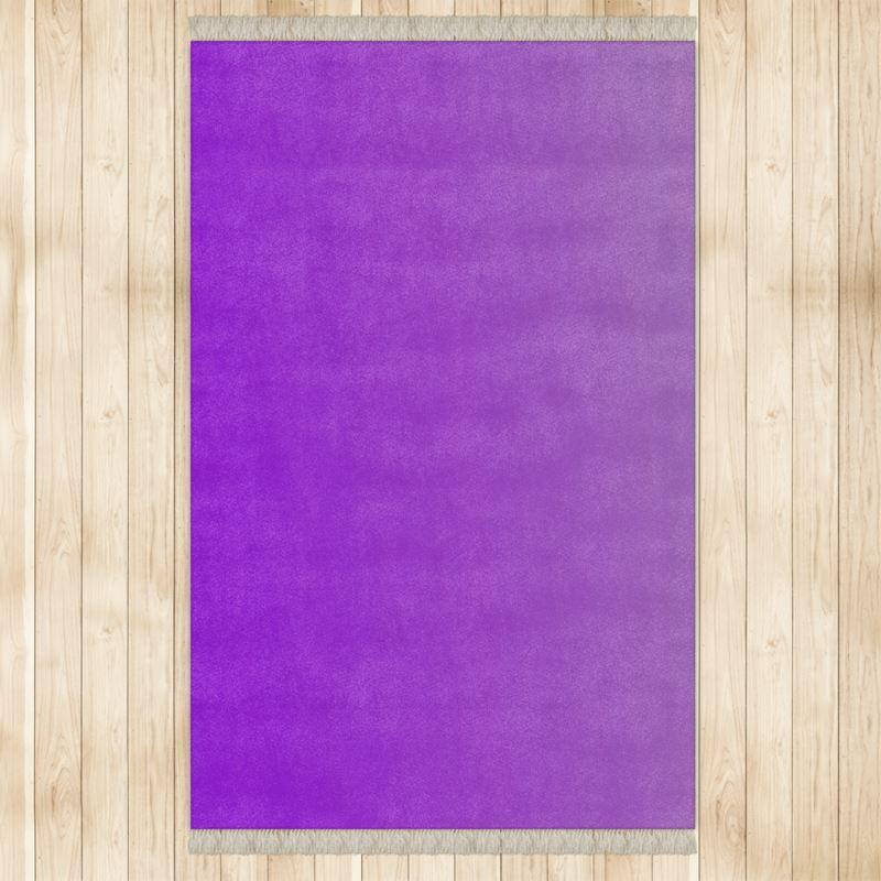 Castlefield Design Purple Rug