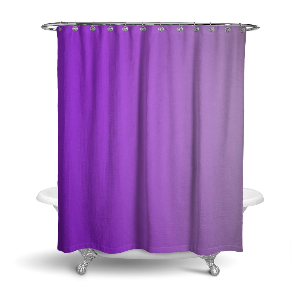 Castlefield Design Purple Shower Curtain