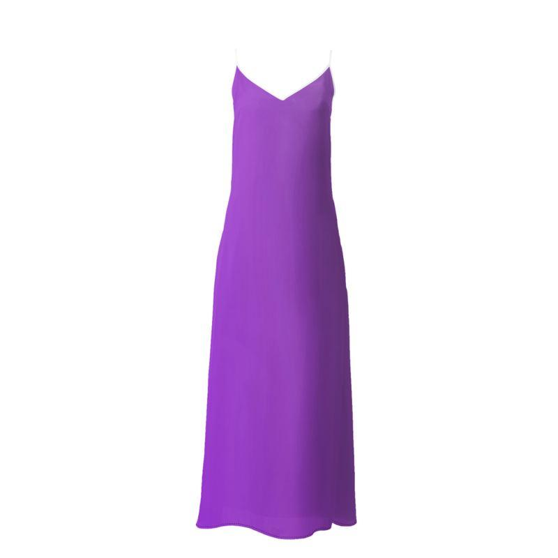 Castlefield Design Purple Slip Dresses