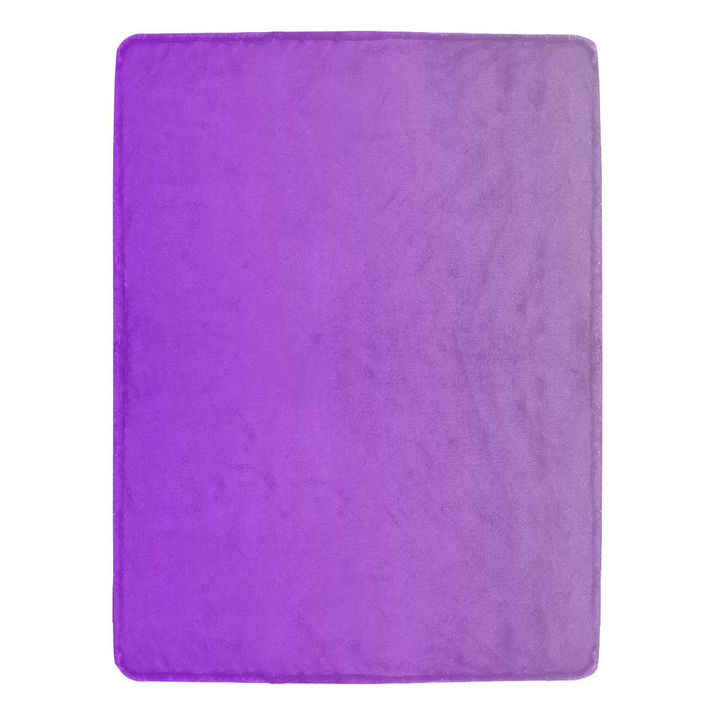 Castlefield Design Purple Throw Blanket