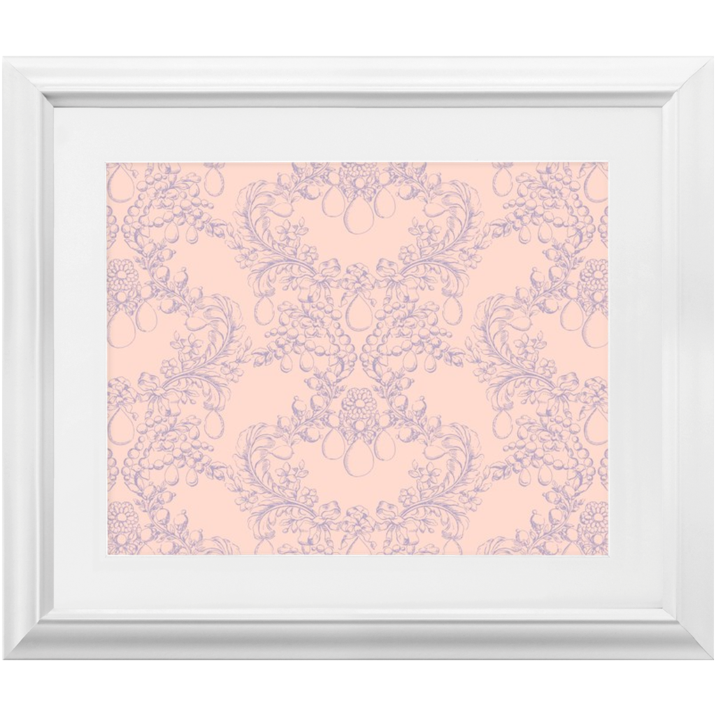 Castlefield Design Rococo Marie Framed Prints