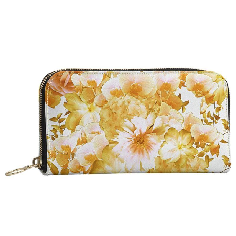 Castlefield Design Romantic Floral Large Wallet