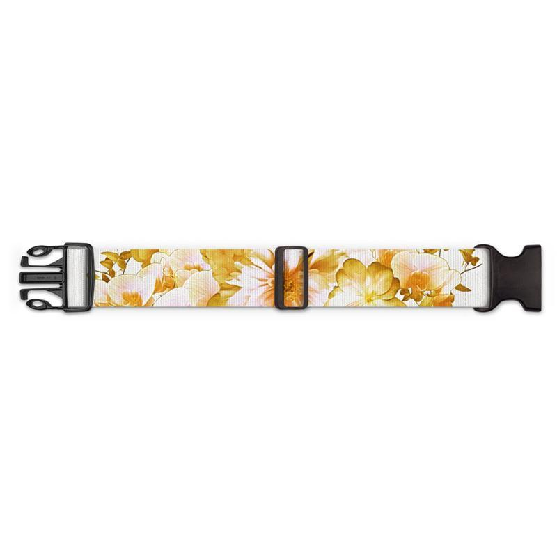 Castlefield Design Romantic Floral Luggage Strap