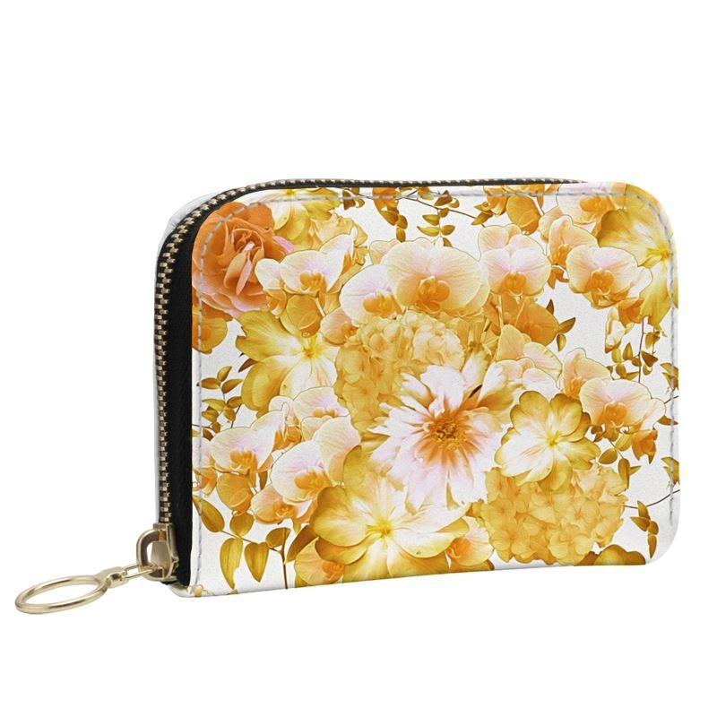 Castlefield Design Romantic Floral Small Wallet
