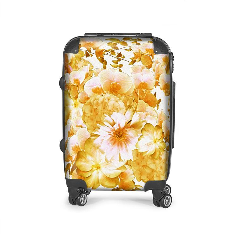 Castlefield Design Romantic Floral Suitcase