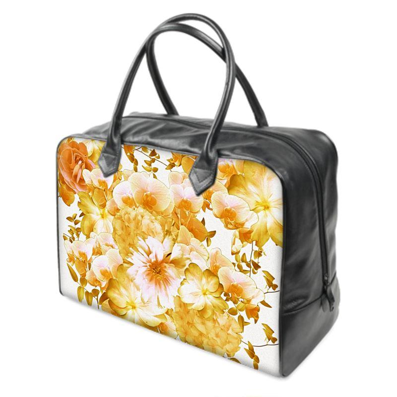 Castlefield Design Romantic Floral Weekender Bag