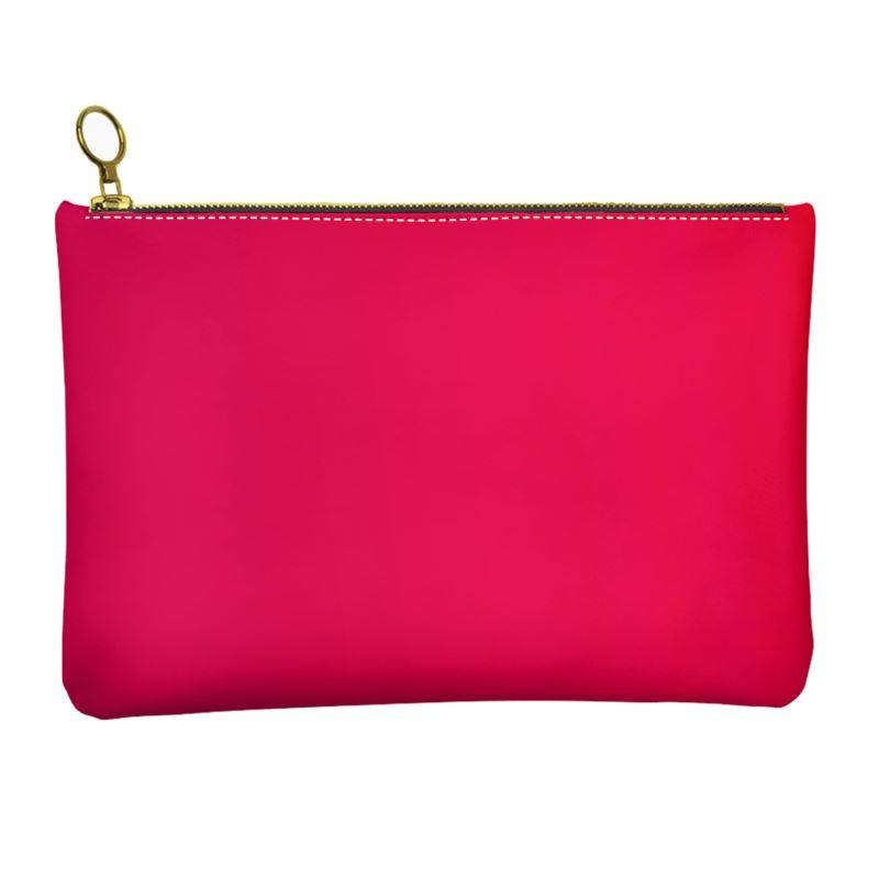 Castlefield Design Rose Leather Clutch