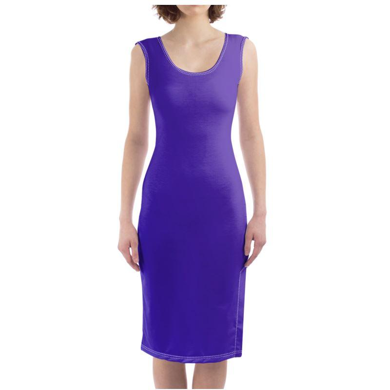 Castlefield Design Royal Blue Bodycon Dress