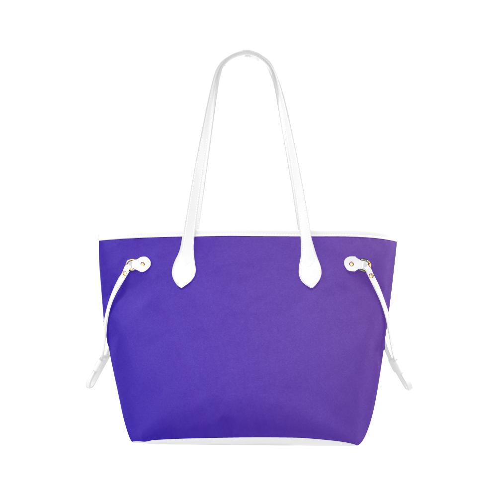 Castlefield Design Royal Blue Canvas Tote