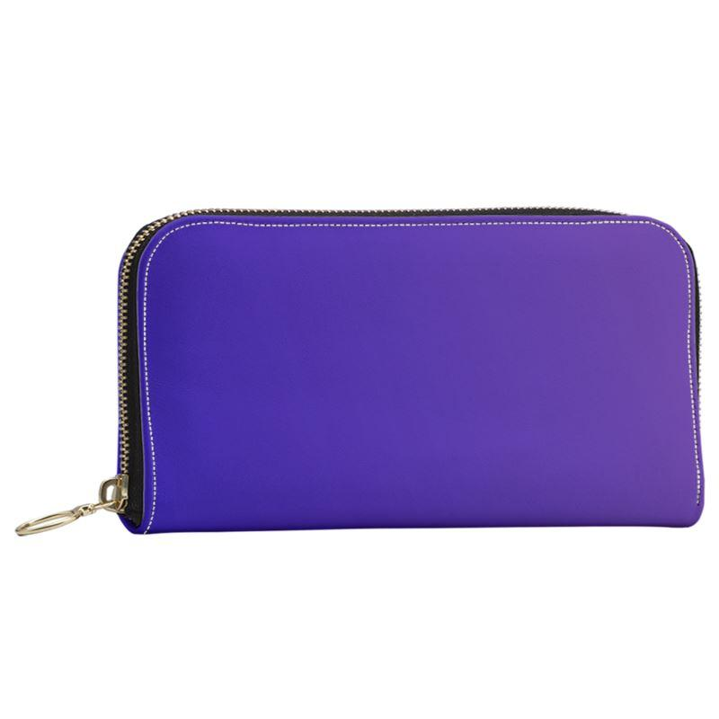 Castlefield Design Royal Blue Large Wallet