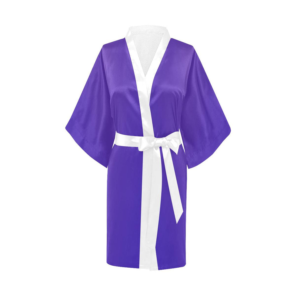 Castlefield Design Royal Blue Satin Robe