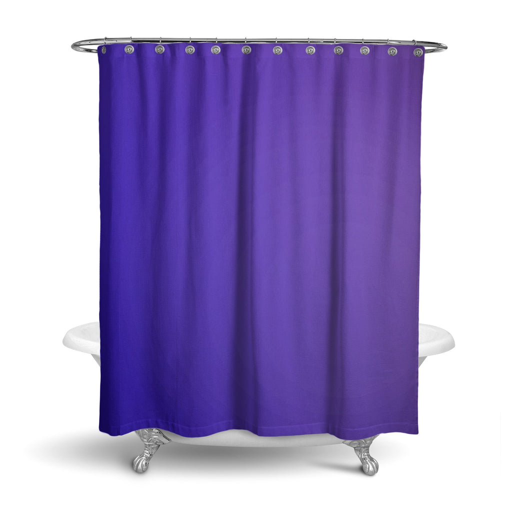 Castlefield Design Royal Blue Shower Curtain