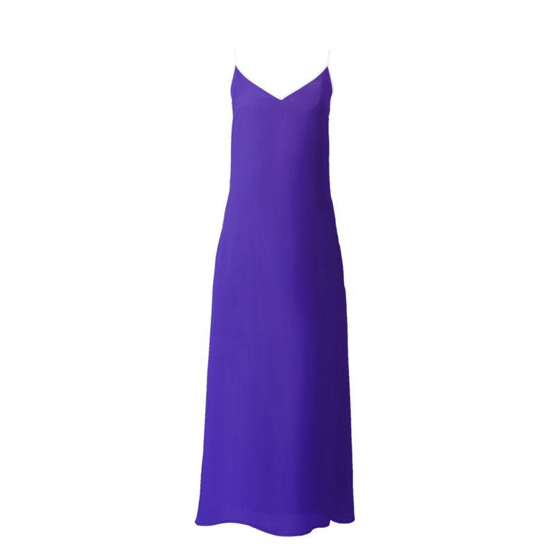 Castlefield Design Royal Blue Slip Dresses