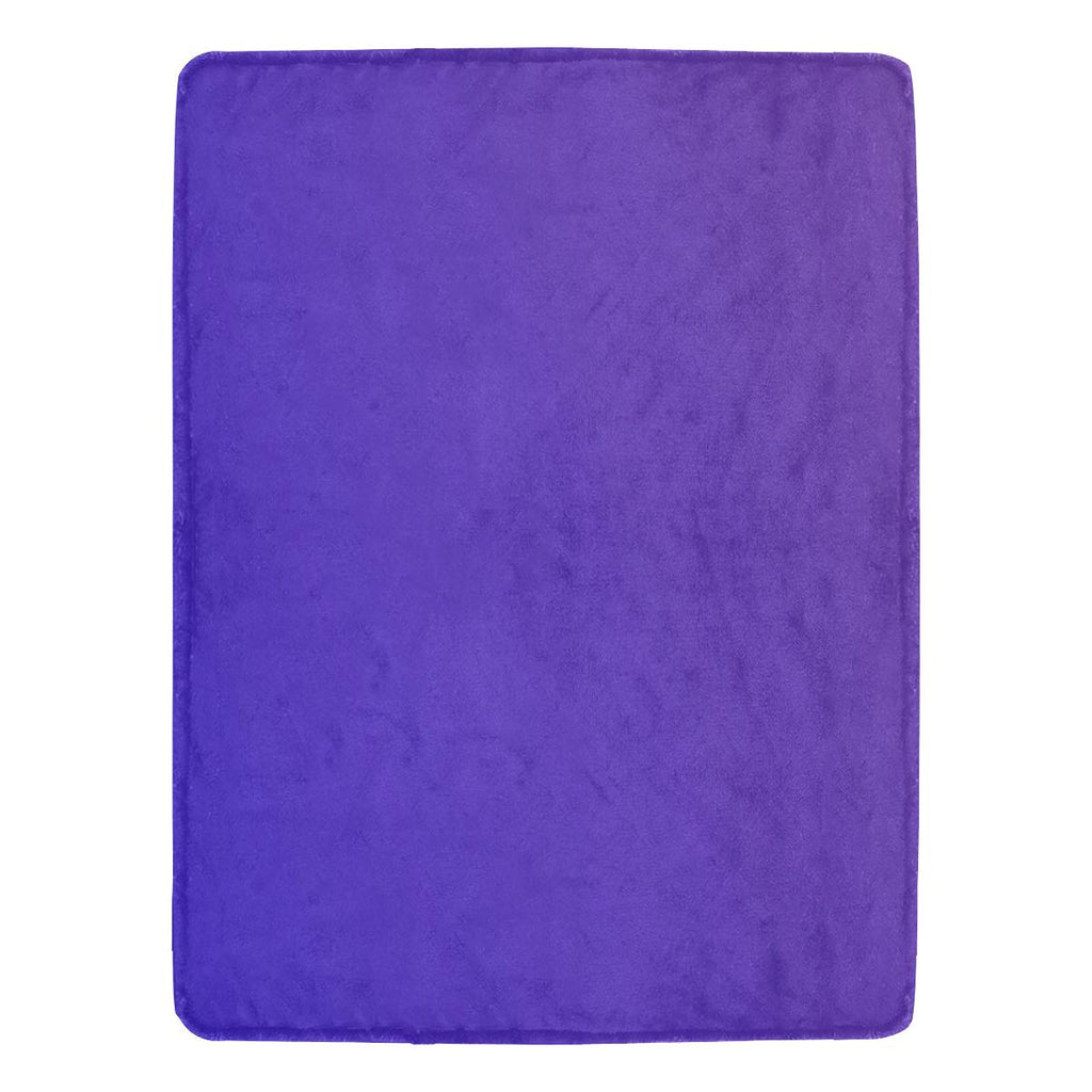 Castlefield Design Royal Blue Throw Blanket