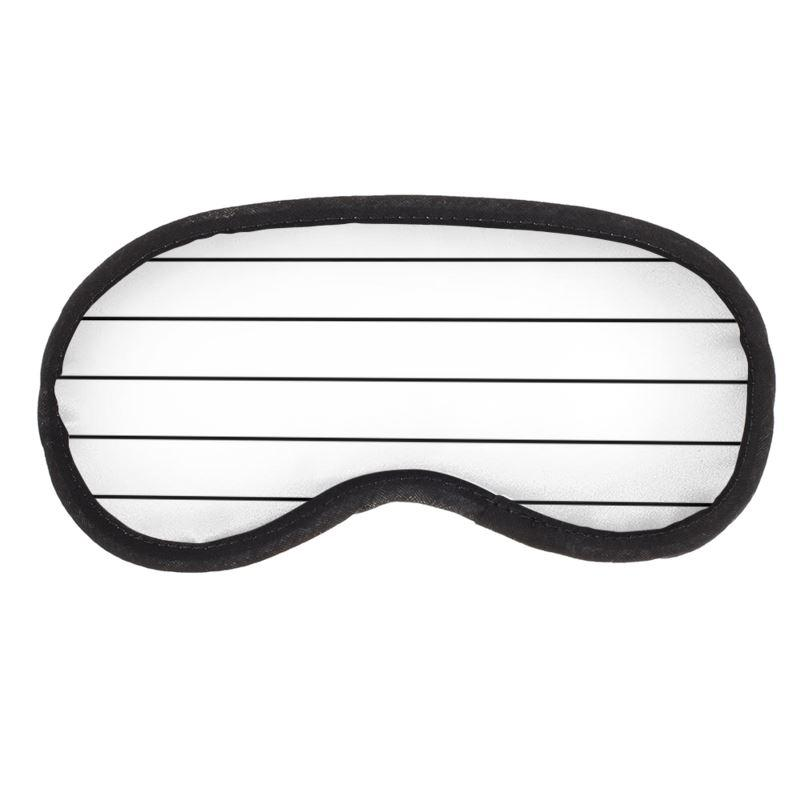 Castlefield Design Simple Stripes Eye Mask