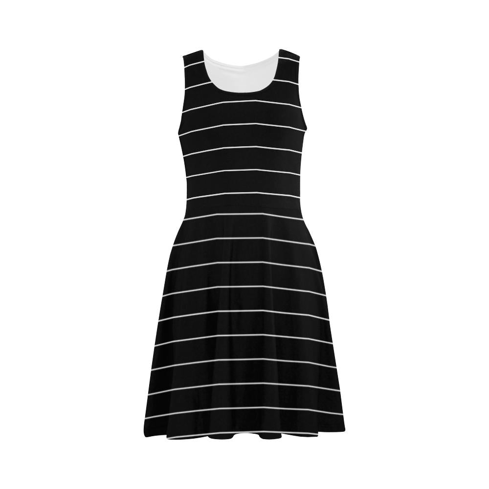 Castlefield Design Simple Stripes Flare Dress